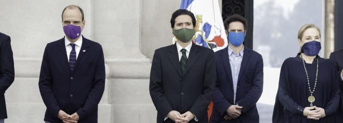 El Ministro de Hacienda, Ignacio Briones.